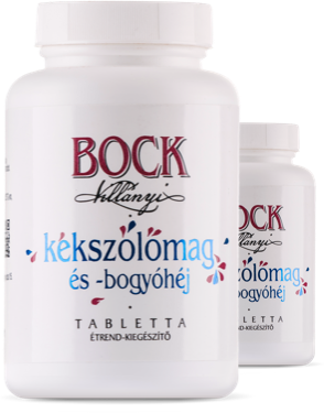 Bock Blue Grape Seed- and-Skin Tablets